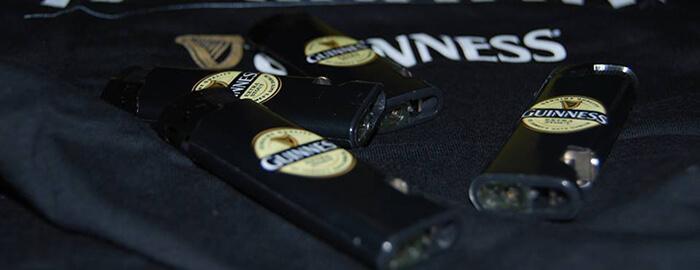 gadget Guinness a forma di accendino