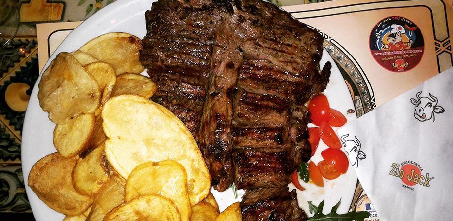 La steak house Zio Jack a Napoli