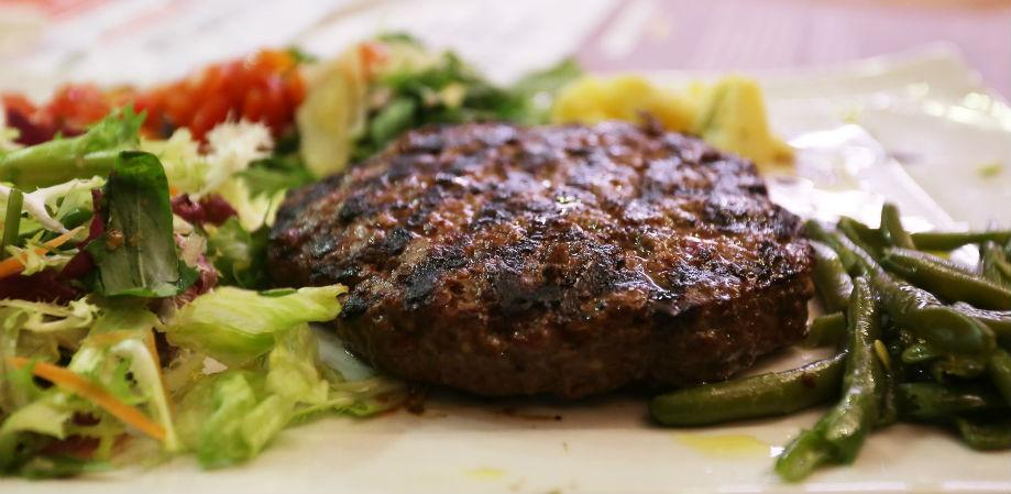 L'hamburger di La Scottona