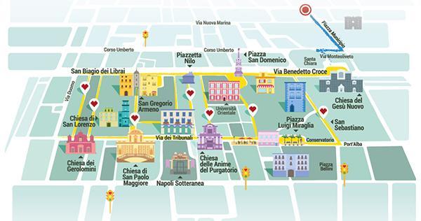 Mappa del Festival del Bacio 2015