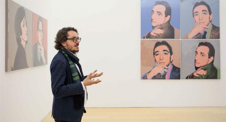 La mostra di Lucio Amelio al Museo Madre di Napoli