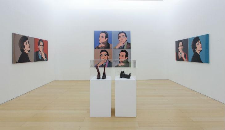 Mostra di Lucio Amelio al Museo Madre di Napoli