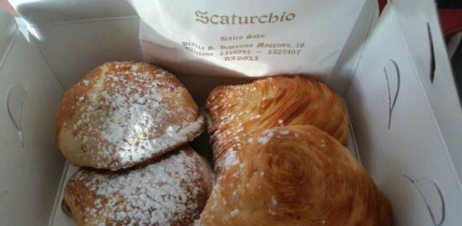 La sfogliatella di Scaturchio a Napoli