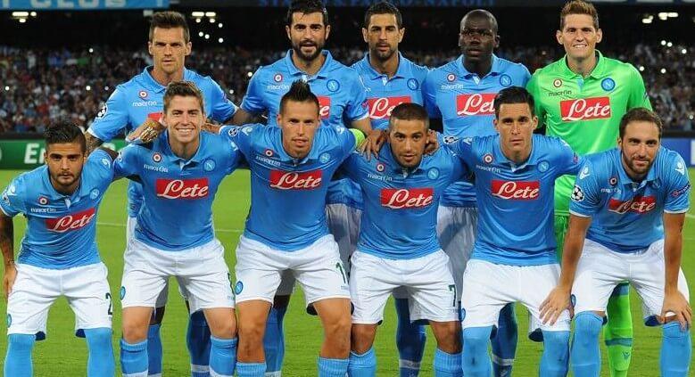 Squadra del Calcio Napoli