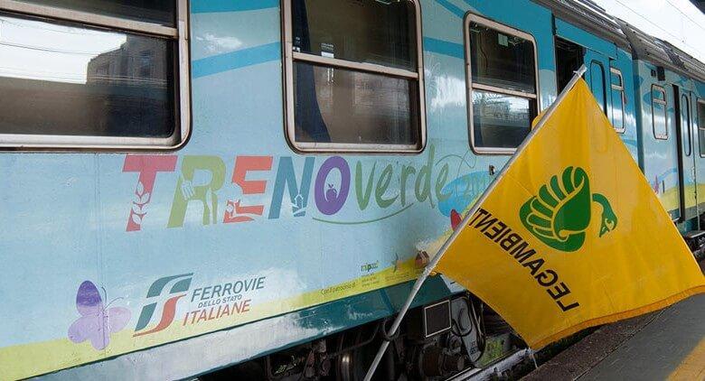 Il Treno Verde di Legambiente