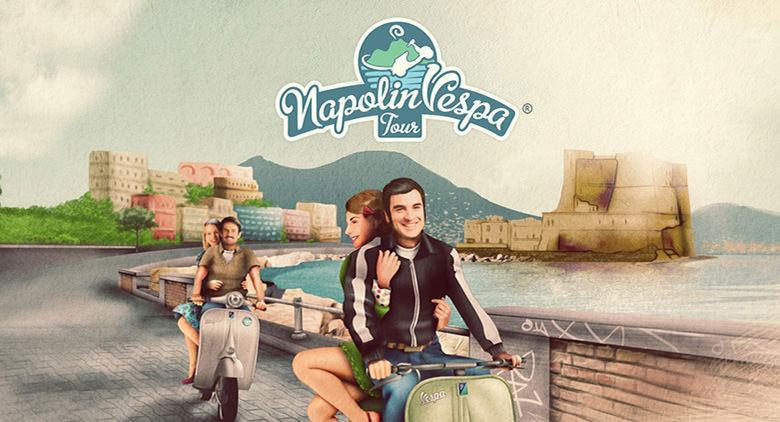Tour in vespa a Napoli