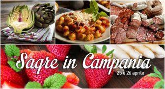 Sagre in Campania per il weekend del 25 e 26 aprile 2015: 4 consigli