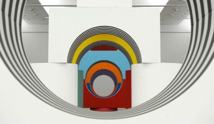 Come un gioco da bambini, mostra di Daniel Buren al Museo Madre di Napoli