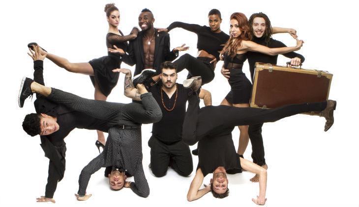 La crew di street dance Mnai's al Teatro Bellini di Napoli