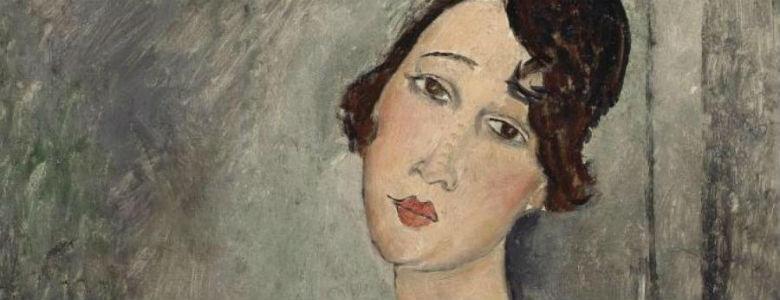 Una delle opere di Amedeo Modigliani