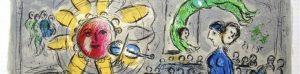 Chagall in mostra a Napoli alla Basilica di Santa Maria Maggiore alla Pietrasanta con oltre 150 opere esposte