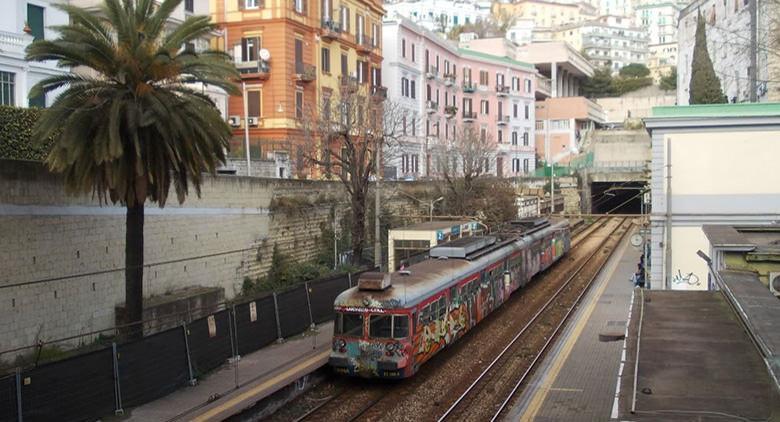 Stazione cumana a Napoli