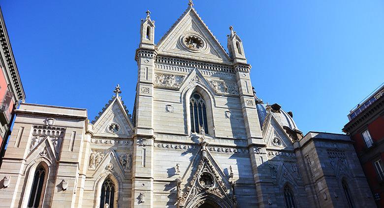 Facciata del Duomo di Napoli