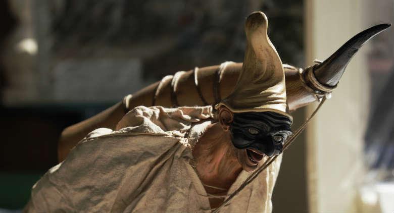 maschera di Pulcinella napoletana