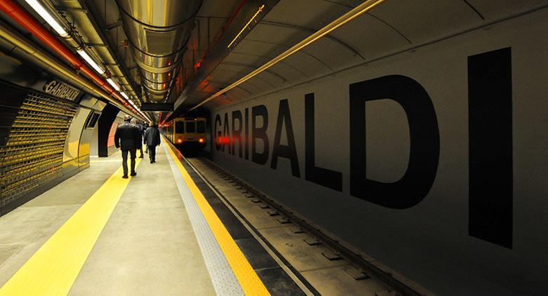 Stazione Garibaldi della metro linea 1 di Napoli