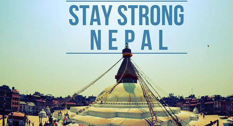 Nepal stay strong