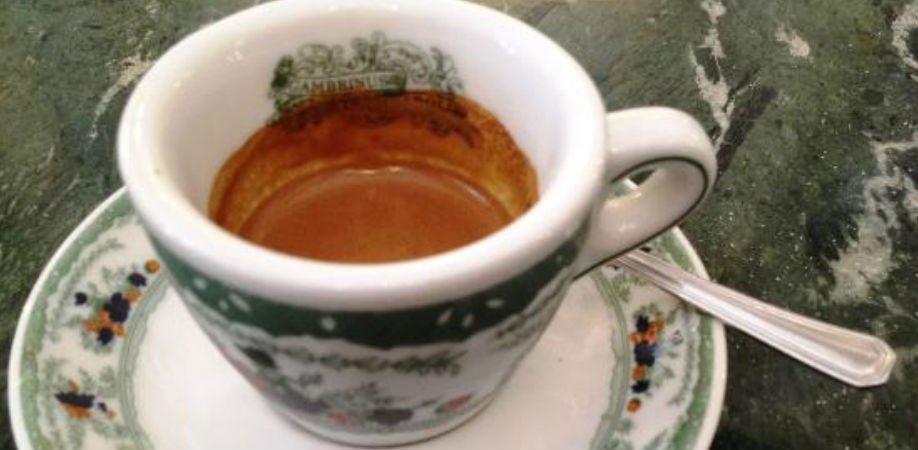 Il caffè Gambrinus a Napoli