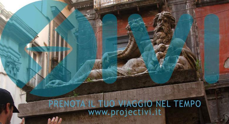 Locandina del Progetto IVI, Itinerari Video Interattivi Napoli