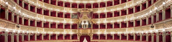 Interno teatro San Carlo