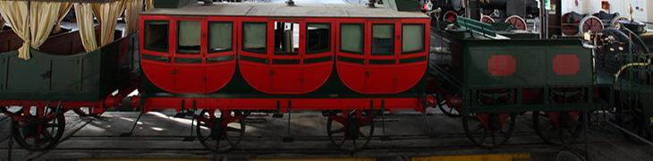 Treni del Museo Ferroviario di Pietrarsa