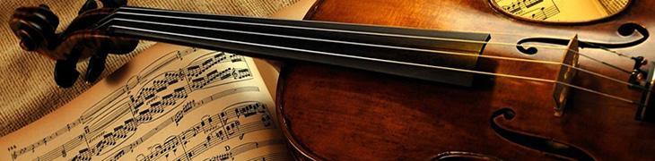 violino con spartito