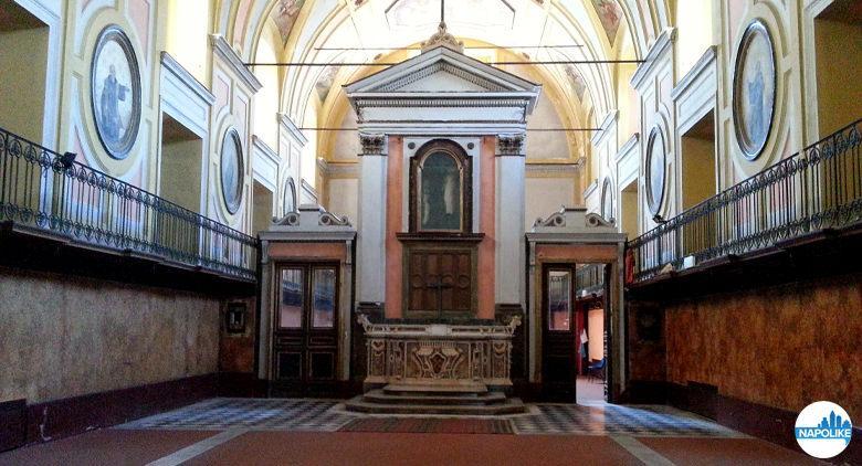 Lazzaretto annesso alla Chiesa di Santa Maria della Pace a Napoli
