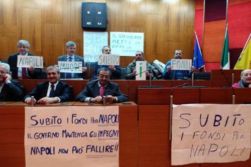 Napoli: sciopero della fame consiglieri comunali per i tagli