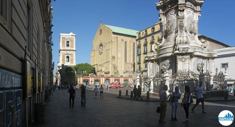 Piazza del Gesù Nuovo a Napoli