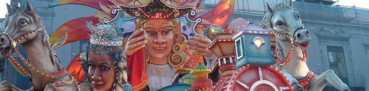 Carri al Carnevale di Striano