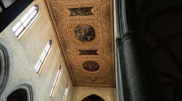 Decke der Kirche von San Pietro a Majella Neapel