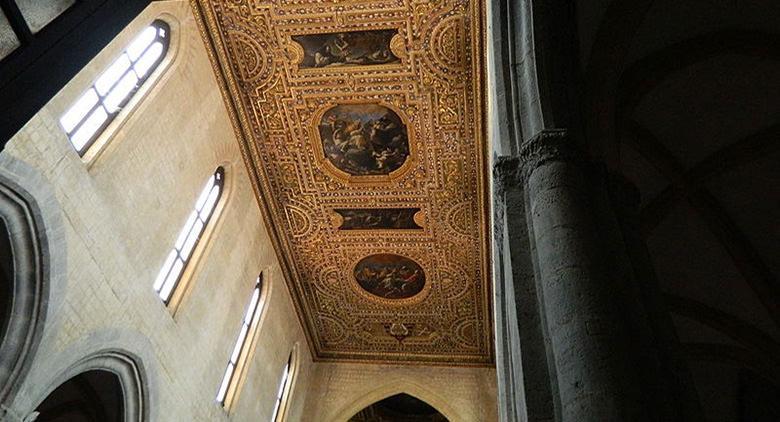 Soffitto della Chiesa di San Pietro a Majella Napoli