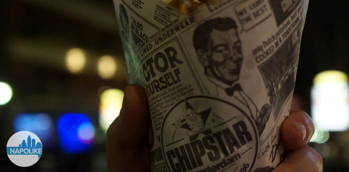 Chipstar al Vomero: il cartoccio di patatine che arriva da Amsterdam
