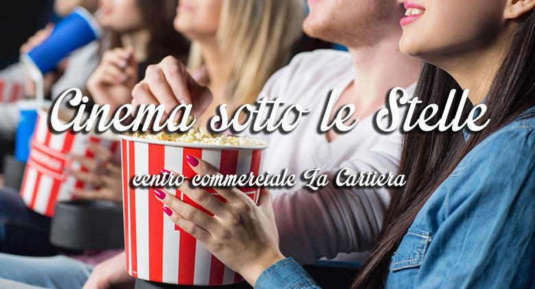Cinema all'aperto alla Cartiera di Pompei