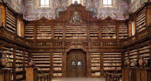 ナポリのジローラミニコンプレックスの図書館