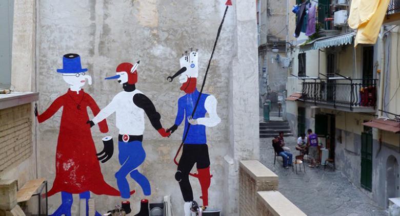 Street art Cyop & Kaf ai Quartieri Spagnoli di Napoli