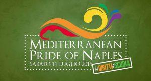 ملصق لمثلي الجنس فخر 2015 في نابولي