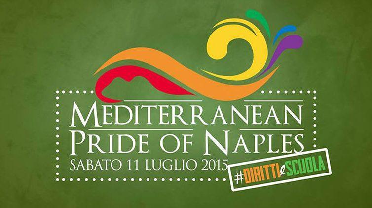 Locandina del Gay Pride 2015 a Napoli