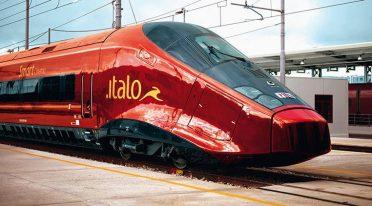 foto di un treno italo