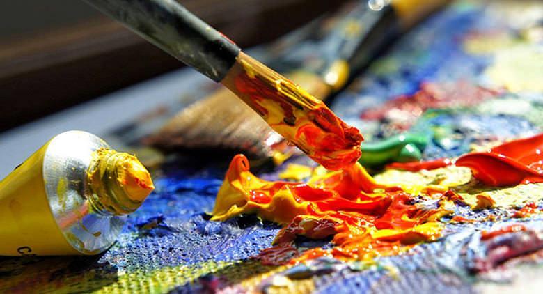 Laboratorio pittura per Benvenuti al Rione Sanità