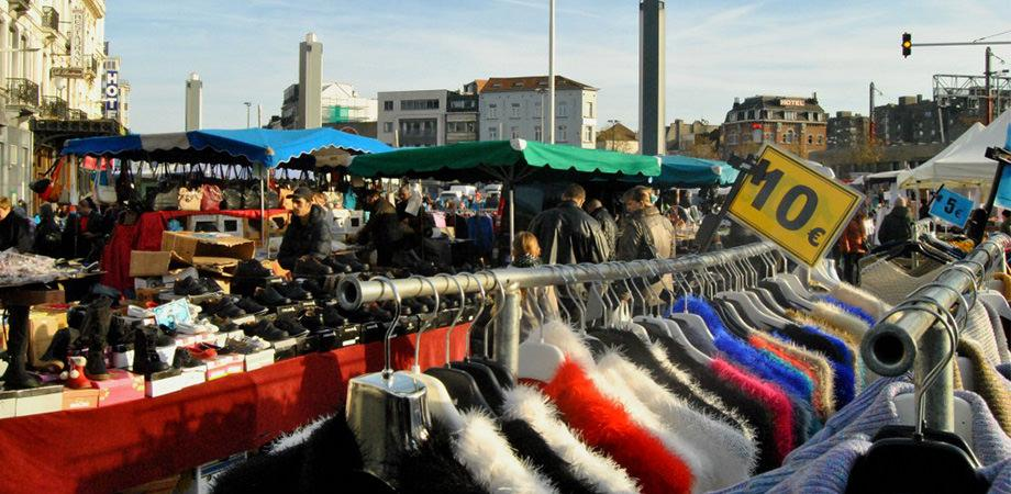 Mercato di Poggioreale a Napoli