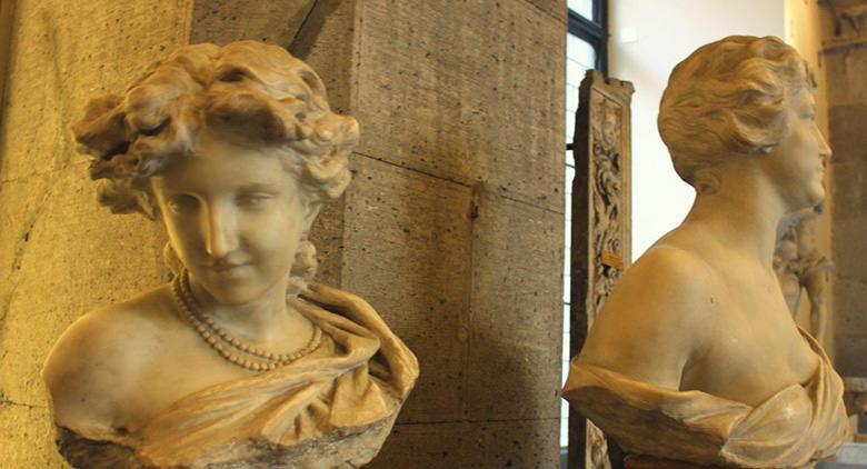 Busti al Museo Filangieri di Napoli