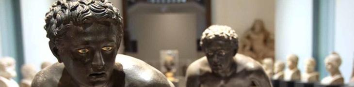 Statue al Museo Nazionale di Napoli