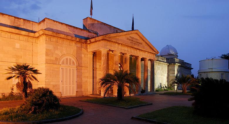 Esterno dell'Osservatorio di Capodimonte