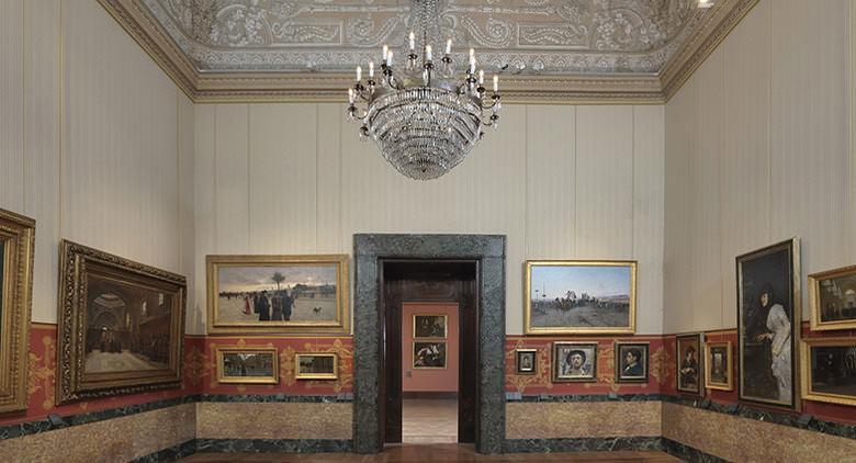Sala del Palazzo Zevallos Stigliano di Napoli