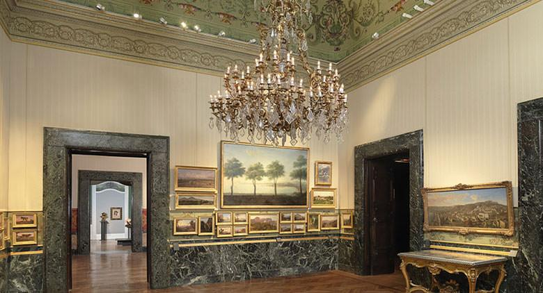 Sala di Palazzo Zevallos Stigliano a Napoli