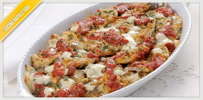 ricetta parmigiana di alici cucinare alla napoletana