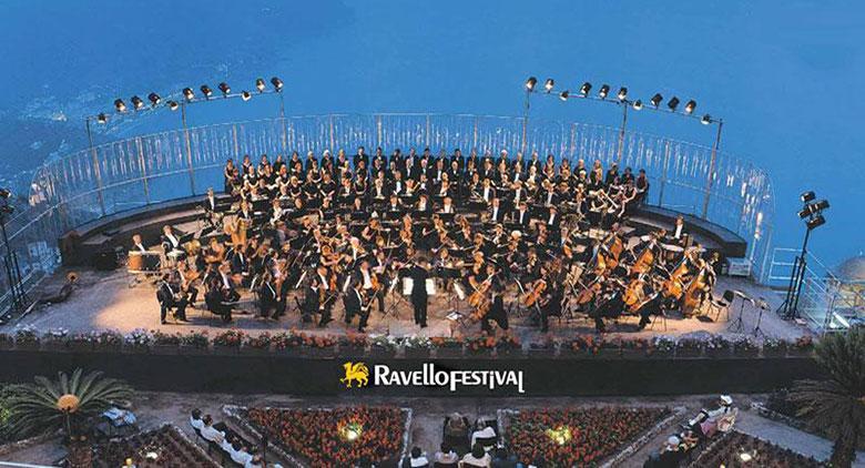 Palco del Ravello Festival