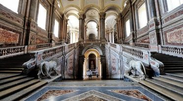 Stairs of the Royal Palace of Caserta