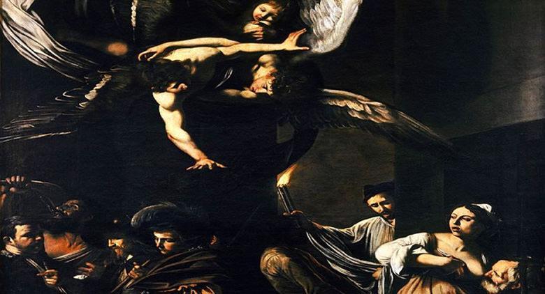 Sette Opere di Misericordia di Caravaggio
