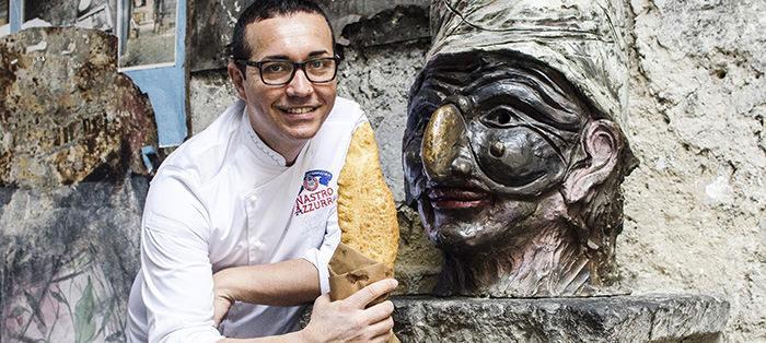 PIzza fritta Modigliani Gino Sorbillo